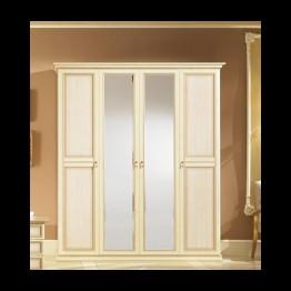 Шкаф 6-ти дверный Неола беж