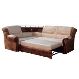 Угловой диван Ассамблея люкс с баром