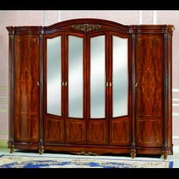 Шкаф 6-ти дверный с зеркалом - Глория