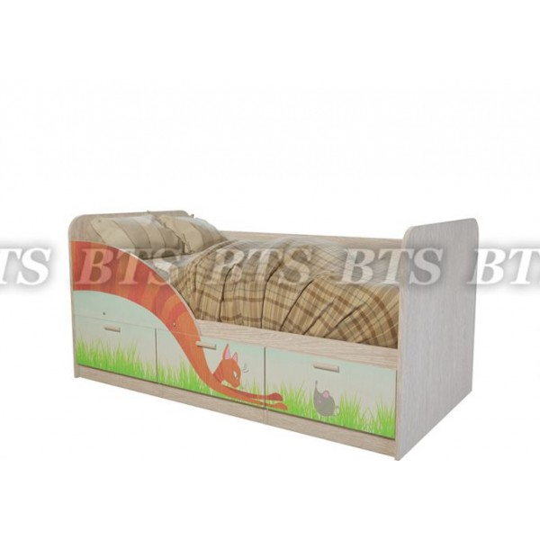 Детская кроватка Минима Радуга и Сказка