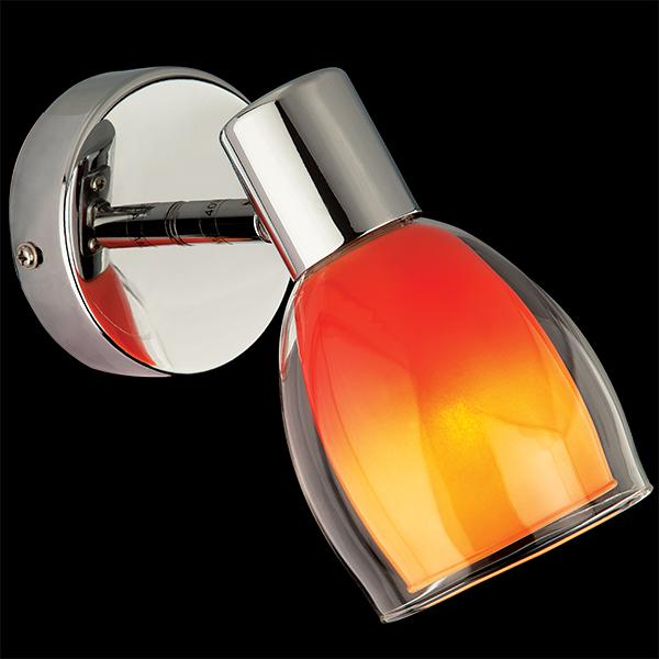 Бра 2688/1 хром/оранжевый