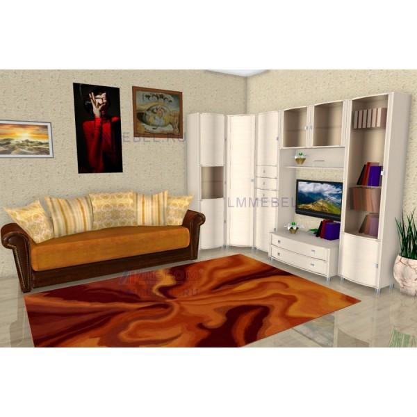 Гостиная Лером Оливия ПР2 цвет Дуб Беленый (БД)
