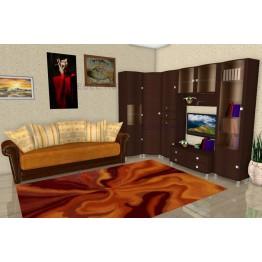 Гостиная Лером Оливия ПР2 цвет Дуб Венге (ВЕ)