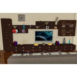 Гостиная Лером Патриция ПР1 цвет Дуб Венге (ВЕ)