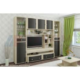 Гостиная Лером Роберта 1 цвет Дуб Беленый - комбинированный (БД-К)