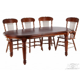 Обеденная группа (Стол 4280 SWL стул 838 S 4 шт. кресло 838 A 2 шт.)