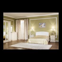 Спальня Василиса Цвет - дуб белый с золотом