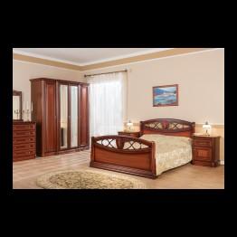 Спальня Василиса Цвет - красное дерево