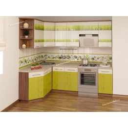 Кухонный гарнитур угловой Тропикана 17 (ширина 160х240 см)