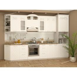 Кухонный гарнитур Тиффани 21 (ширина 330 см)