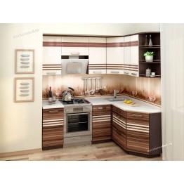 Кухонный гарнитур угловой Рио 14 (ширина 200х150 см)
